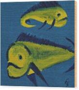 Florida Fish Wood Print