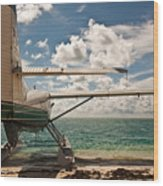 Florida Keys Seaplane Wood Print by Patrick  Flynn