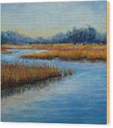 Florida Marsh Wood Print