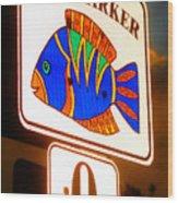 Florida Mile Marker 0 Wood Print