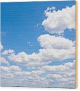 Florida Sky - Tallahassee, Florida Wood Print