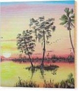 Florida Splendor Wood Print