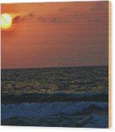 Florida Sunset 1 Wood Print