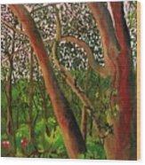 Florida Woodlands Wood Print