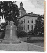 Florida's Old Capitol Building Wood Print