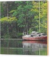 Floridian Fall Wood Print