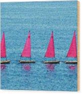 Flotilla Wood Print