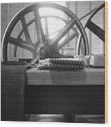 Flour Mill Wood Print