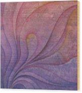 Flow 10 Wood Print