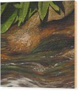 Flow Wood Print