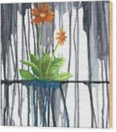 Flower #1 Wood Print