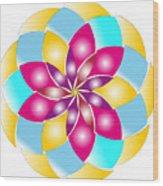 Flower 1317 - Abstract Art Print - Fantasy - Digital Art - Fine Art Print - Flower Print Wood Print
