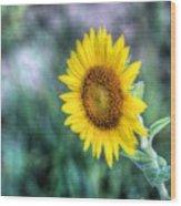 Flower #42 Wood Print