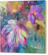 Flower 9350 Wood Print