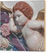 Flower Angel Wood Print
