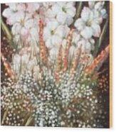 Flower Arrangment Wood Print