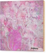Flower Art The Scent Of Love Is In The Air Wood Print