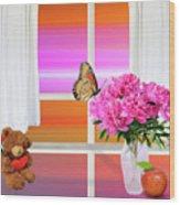 Flower Color Wood Print