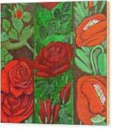 Flower Composition 4 Wood Print