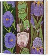 Flower Composition 5 Wood Print