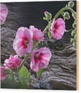 Flower Country Wood Print