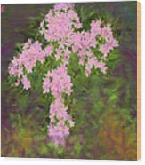Flower Cross Fancy Wood Print