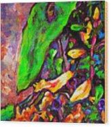Flower Culture 101 Wood Print