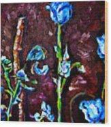 Flower Culture 197 Wood Print