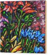 Flower Culture 213 Wood Print
