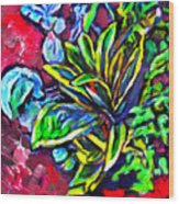 Flower Culture 295 Wood Print