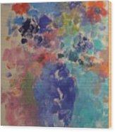 Flower Dreams Wood Print