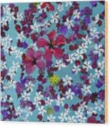 Flower Fantasy Guatemala Wood Print