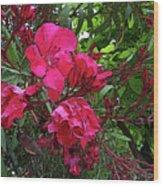 Flower Fest Wood Print