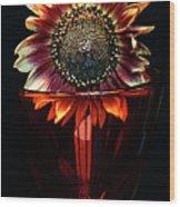 Flower For Foodie #3. Wood Print