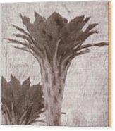 Flower-g Wood Print