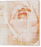 Flower Garden Wood Print by Frank Tschakert