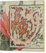 Flower-h Wood Print
