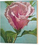 Flower In The Sky Wood Print