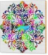 Flower Mandala 4 Wood Print