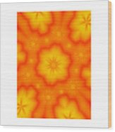 Flower Mandala 5 Wood Print