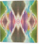 Flower Mandala Wood Print