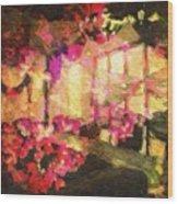 Flower Mix Wood Print