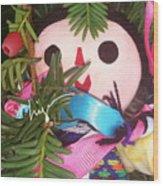 Flower Or Fruit Wood Print