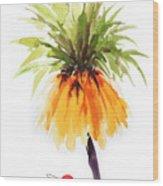 Flower Painting 2 Wood Print