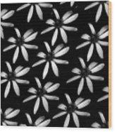 Flower Paper Wood Print