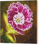 Flower Pop 2 Wood Print