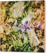 Flower Power  Wood Print