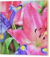 Flower Soft  Wood Print
