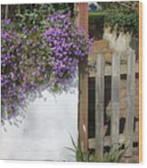 Flower Wall Wood Print