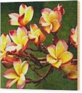 Flowerage Wood Print